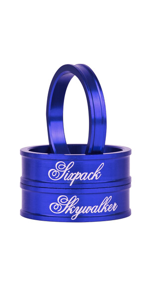 "Sixpack Skywalker Spacer 1 1/8"" blå"